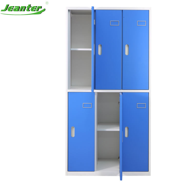 Multi application durable storage quality gym school metal lockers with round door Edge
