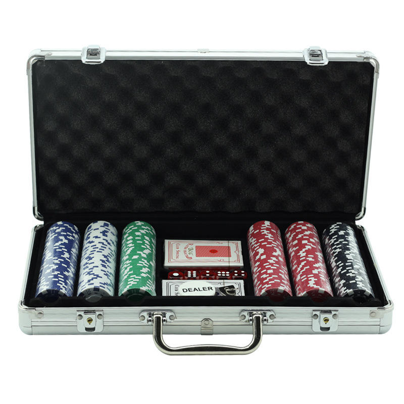 Wholesale custom 14g clay ceramic poker chips set for casino