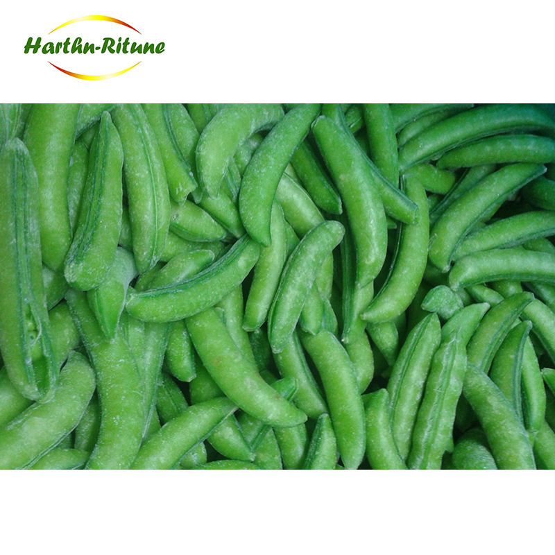 Wholesale New Crop IQF Frozen Sugar Snap Pea With Delicious Taste
