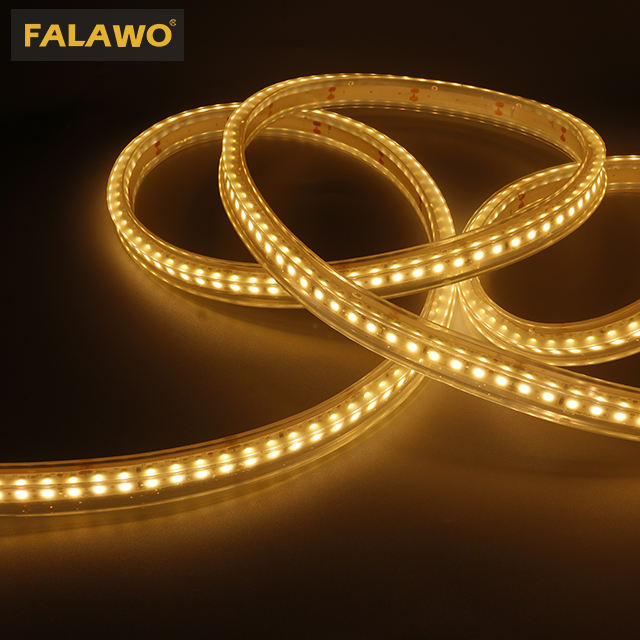 facade lighting using 5m 10w long strip outdoor led