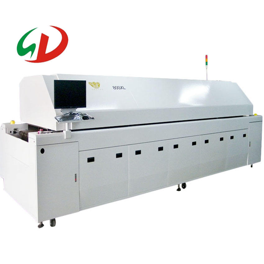 SMT Hot air cheap SMT Reflow oven ,reflow oven profiler for pcb mounting machine