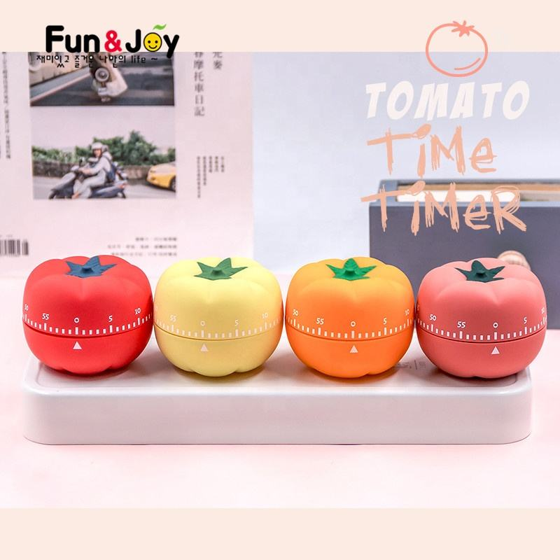 Custom Mixer Kitchen Timer Cute One Hour Tomato Mechanical Countdown Kitchen Timer Study Timer