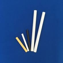 Customized Black Zirconia ceramic rods with good polished