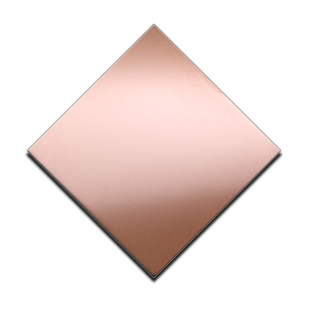 4x8 rose gold decor rvs sheet
