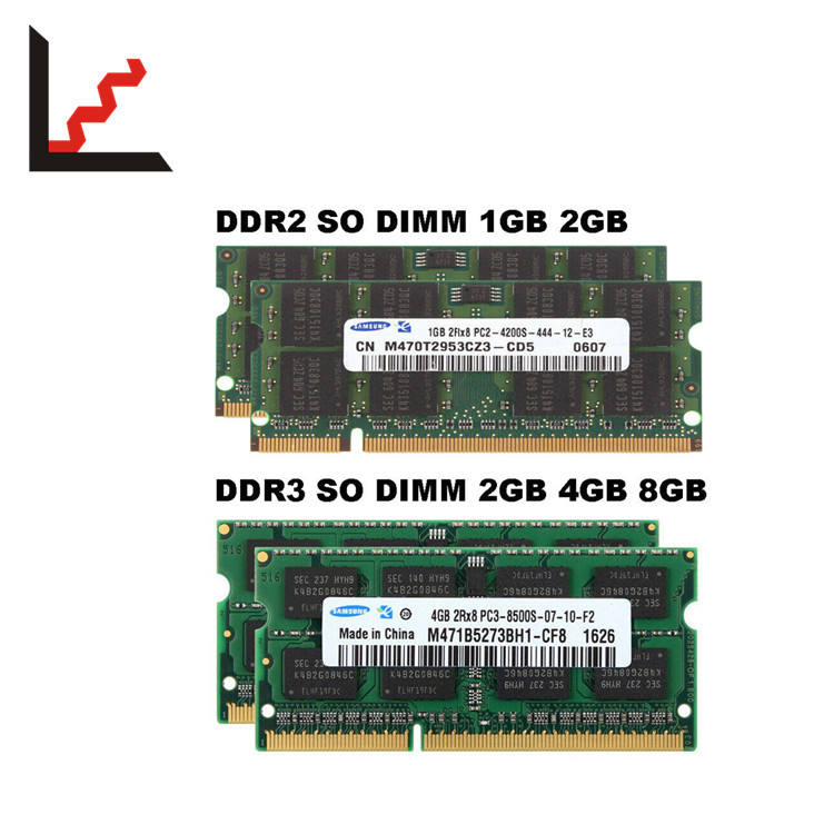 Sam gesungene RAM 1GB 2GB 4 GB 8 GB <span class=keywords><strong>DDR2</strong></span> DDR3 5300 6400 10600 12800 <span class=keywords><strong>Laptop</strong></span> Speicher Lot