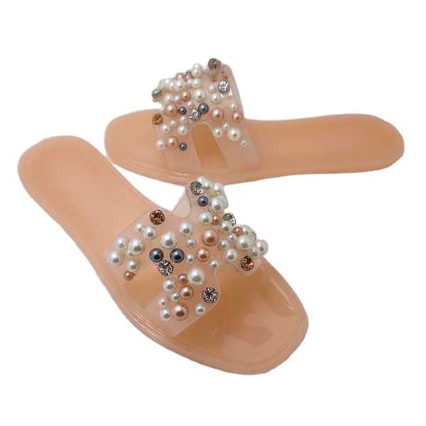 Travel Slippers Summer Men PVC Flip Flop Custom Sliders Plastic Slipper Pink Girls Flat for Women Fancy Jelly Sandals
