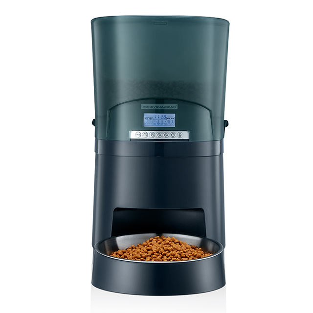 Automatic Pet Feeder Pet Feeder With Stainless Steel Pet Bowl Cats