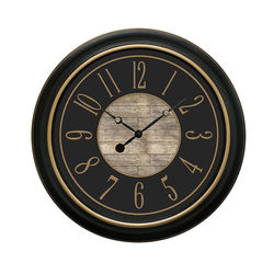 Customized Large Plastic Wall Clock for Home Decoration