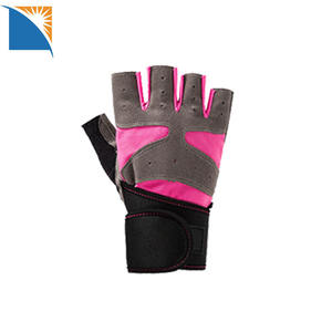 Exercise gym gloves workout Women Men Padded Bodybuilding Gloves Strong Grip gloves fitness training