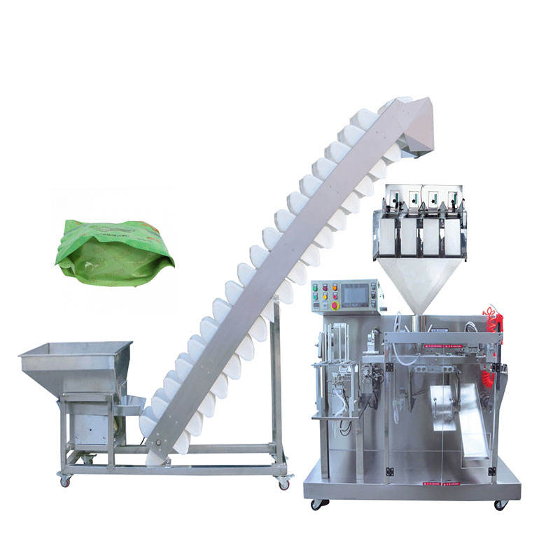 Automatic mini zipper lock bag weighting sunflower seeds packing machine for dry fruit/cashew nut