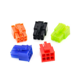 ZPT Custom High quality 6 pin plastic wire to board 4.2mm pitch plastic housing connector