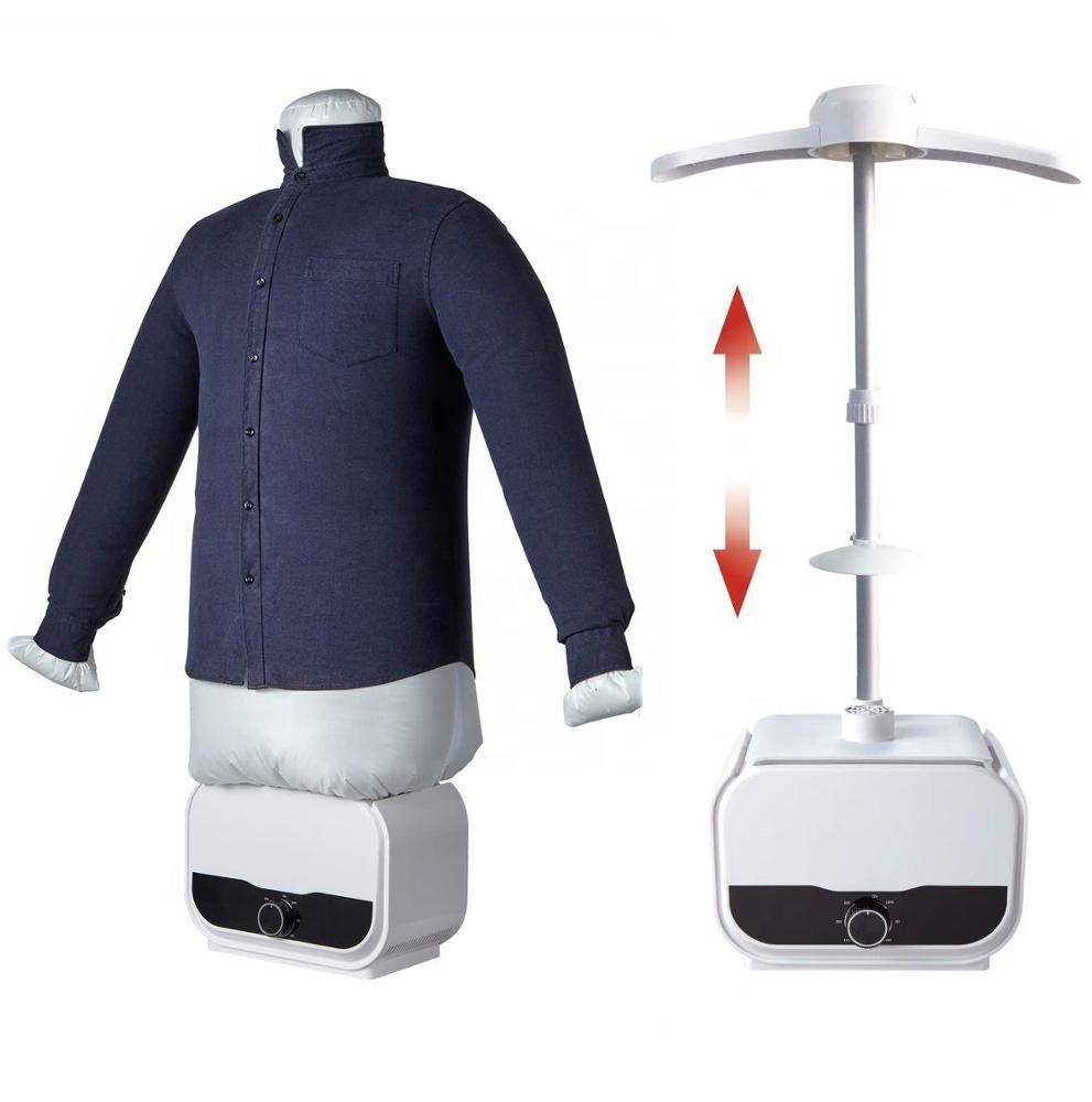 3 in 1 hot sale Electrical Automatic Iron clothes dryer with steam function anti-wrinkle dryer compact body for easy storage