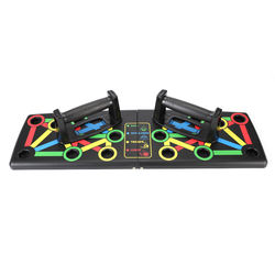 14 In 1 Foldable Premium Workout Fitness Exercise Pull Training Push Up Rack Board Stands