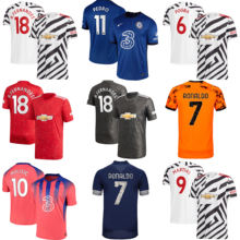 Wholesale Cheap Design Your name number man football full kits Soccer wear jersey shirts For Teams