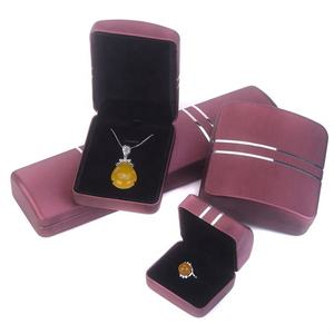 Elegant Custom Made Ladies Gift Packaging Jewelry Set Box For Ring Necklace Bracelet Pendant
