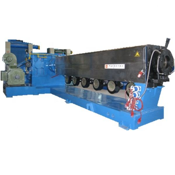 Automatic medium and high voltage sheathing /wire and cable extrusion line/
