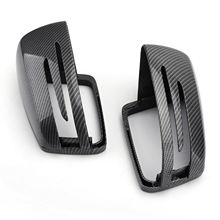Areyourshop Carbon Fiber Rearview Mirror Cover Pair for BENZ C E S GL Class W204 W212 W221