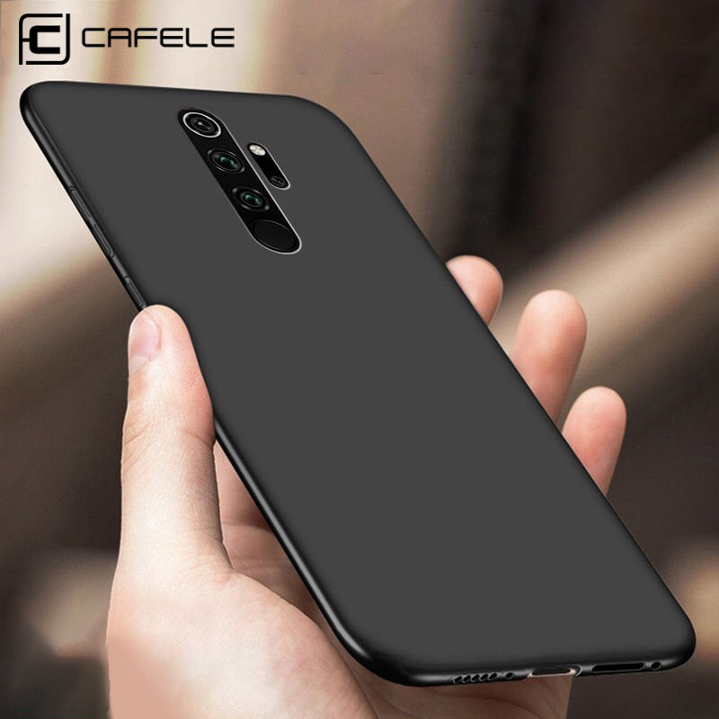 CAFELE Original High Quality Shockproof Matte TPU Cell Phone Cover Case Slim Phone Case for Redmi Note 8 Pro
