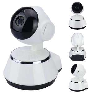 Verto HD 720P 1.0MP 360 grado, mini robot monitor de bebé v380 wifi cámara ip