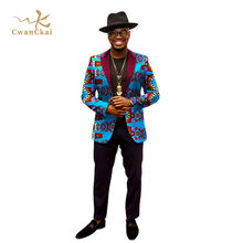 Customized Design african wax dashiki hooded men's jackets & coats,  Comfy African Dashiki Printed Blazer Suits