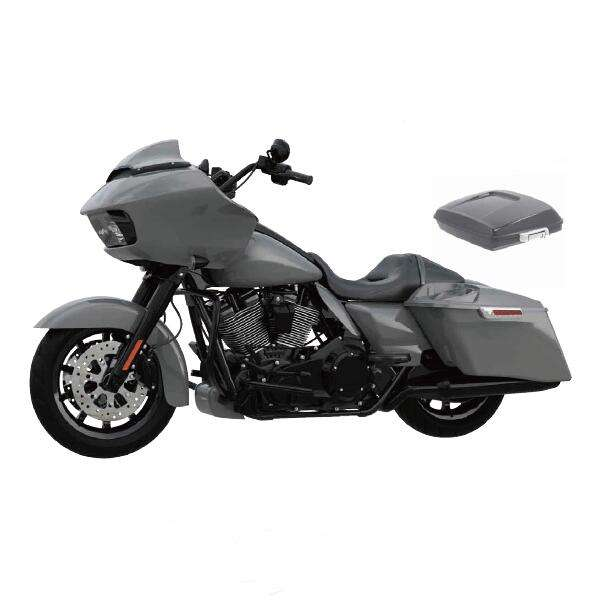 HR3 Gunship Gray verkleidung <span class=keywords><strong>kit</strong></span> body kits Inner Outer Fairing Fit For Harley Road Glide CVO 15-20