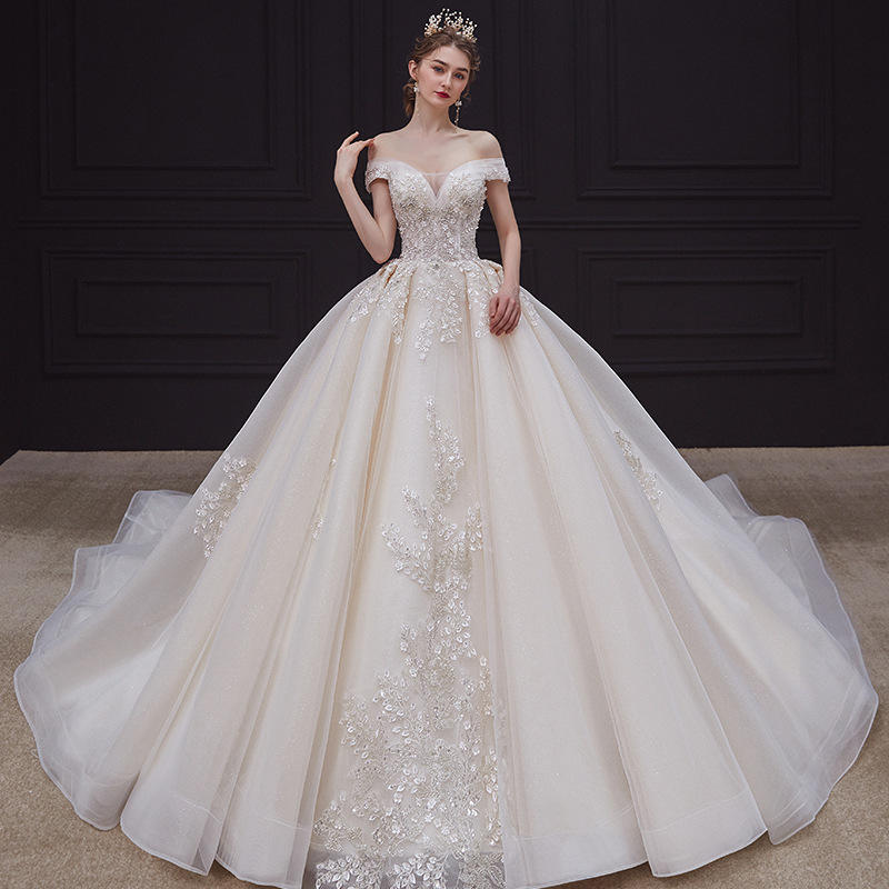 New Style Crystal Wedding Dresses Mermaid Bridal Dress Gown Fashion Wedding Reception Dresses