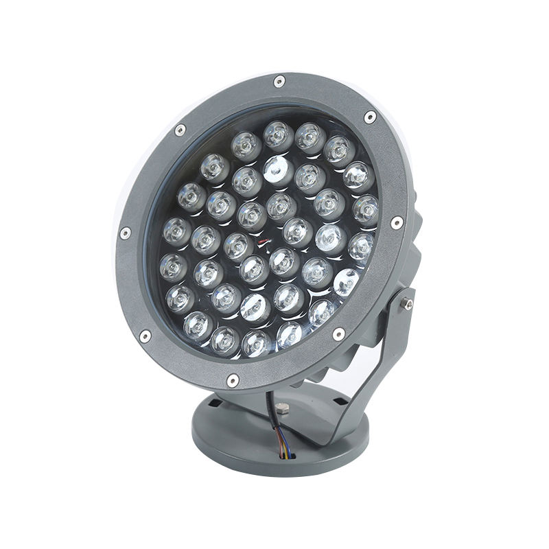 Outdoor led city color light colorful dmx led wall washer spot light RGBW 1000w waterproof flood light for city building