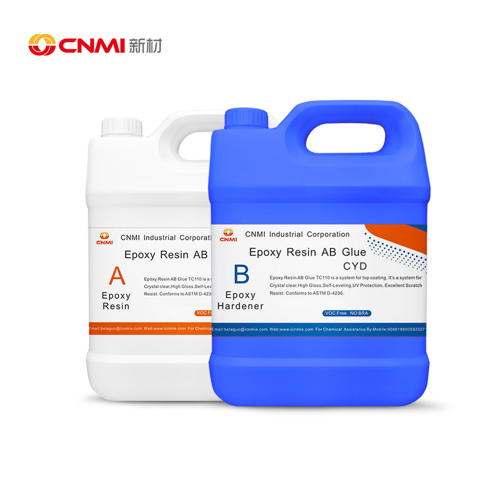 CNMI Deep Pour Epoxy Resin for River Table Liquid Glass Epoxy Resin Kit High Glossy UV Resistance Deep Casting Pour Epoxy Resin