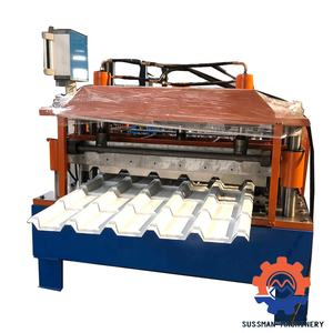 7.5kw Hoofdmotor Power Tegels Roll Forming Machine
