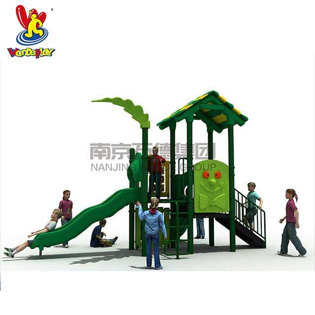 Outdoor Tree House Playground with Slides for School KID PARK