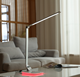 Energy saving and eco-environment led desk lamp with wireless charger, RGB ambient light, USB port