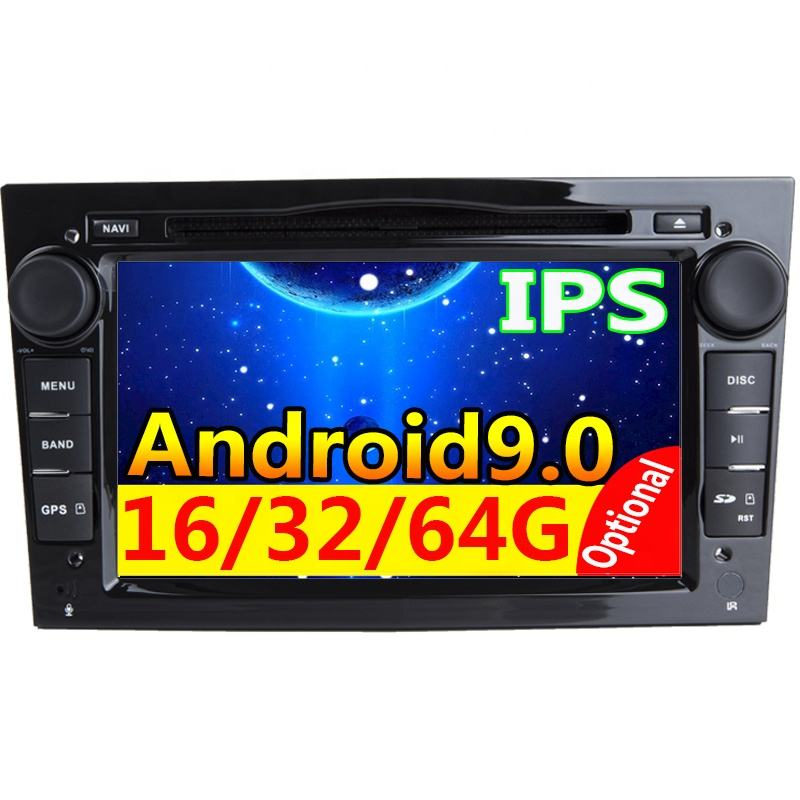 Mobil Multimedia Player GPS Android Autoradio2 Din DVD Automotivo untuk Opel/Astra/Zafira/Combo/Corsa/ antara/Vivaro Mobil Video Player