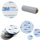 Strong adhesive 3m 9448a double sided tissue paper tape for masking