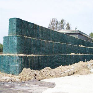 Galvanized Welded Mesh Gabion Mil1 Mil2 Mil3 Mil7 Mil10 Hesco Barrier Cost for Military Defense Blast Wall Flood Erosion Control