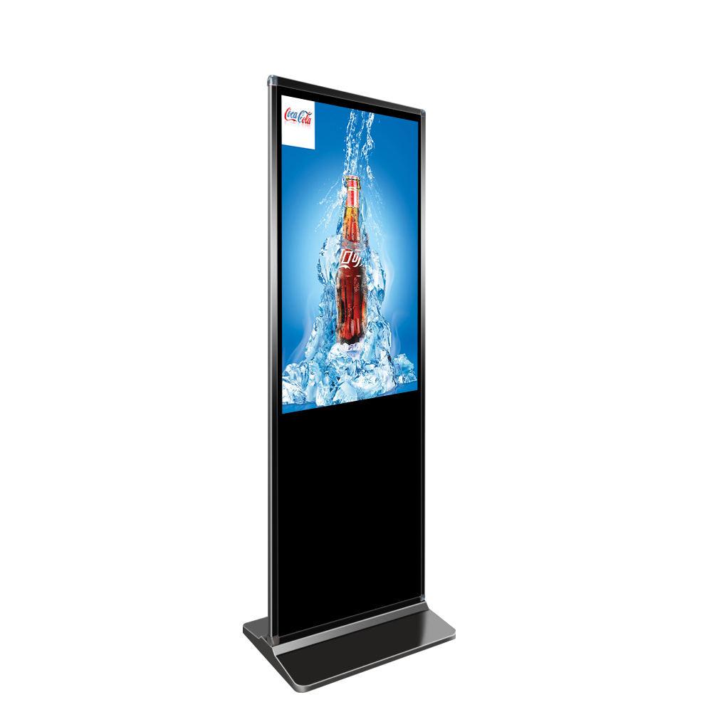 42 pollici supporto da pavimento a cristalli liquidi digital signage pubblicità schermi chiosco