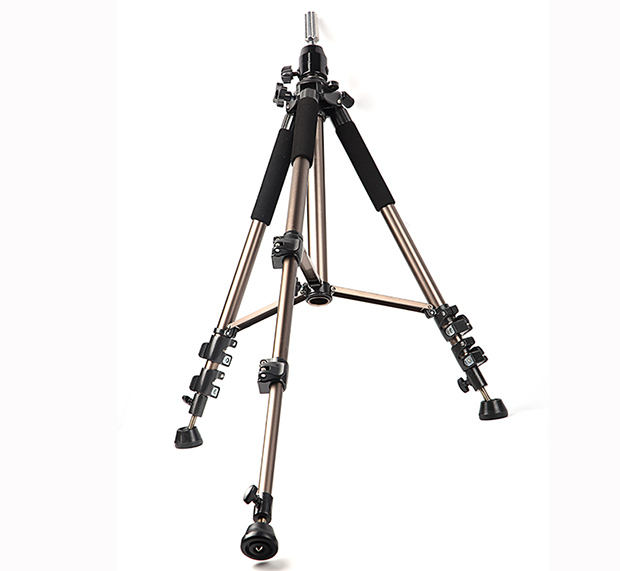 Tripod for wig, adjustable dummy head support