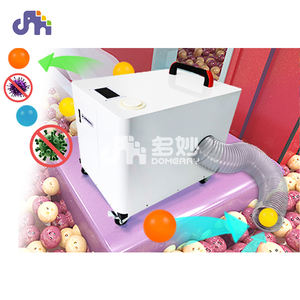 small size ball pits cleaning machine disinfection dry washing plastic ocean ball indoor playground cleaning machine