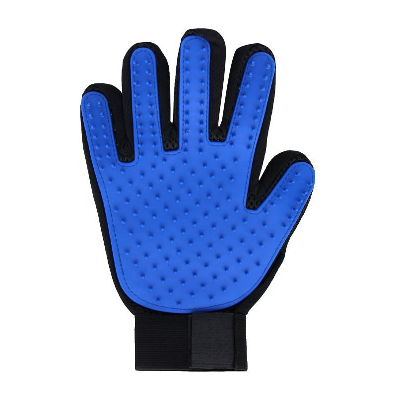Factory Wholesale Multifunction Pet Hair Remover Glove Pet Washing Glove Pet Cat Dog Grooming Glove Brush