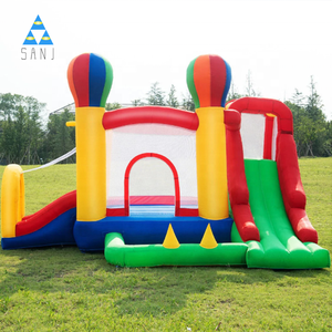 Home Cheap Kids Party Air Mini Mesh Wall Jumping Combo Inflatable Bounce House Bouncer Castle Jumper