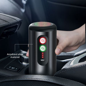 High Performance Portable 02 03 Negative Ion USB Rechargeable Portable Personal Air Purifier  Car Ozone Generator