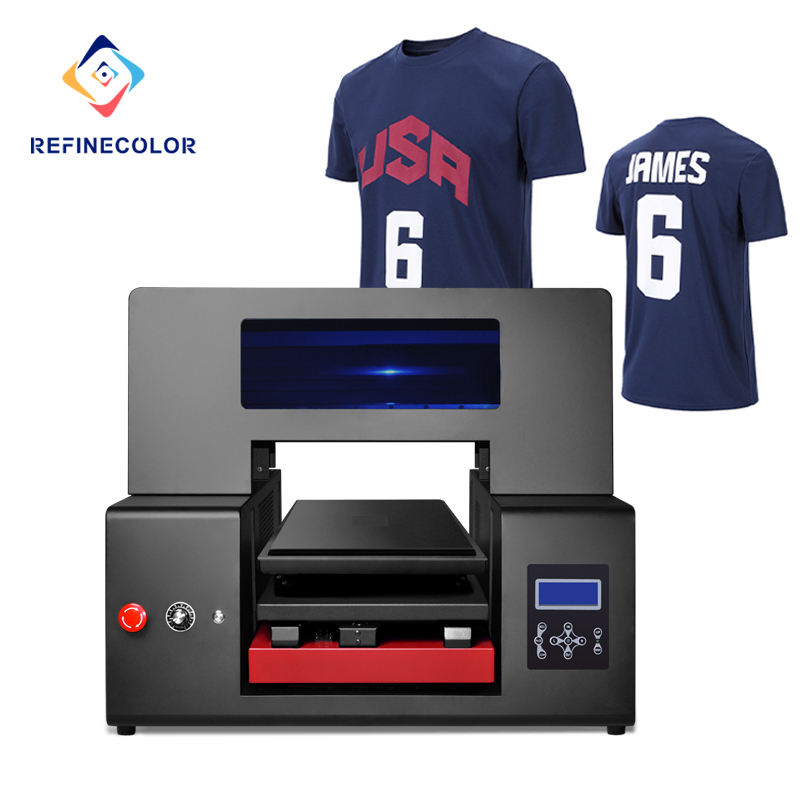 RFC4260 A2 Size Dual Head Kleine Business Lage MOQ Custom T-shirt <span class=keywords><strong>Printer</strong></span>