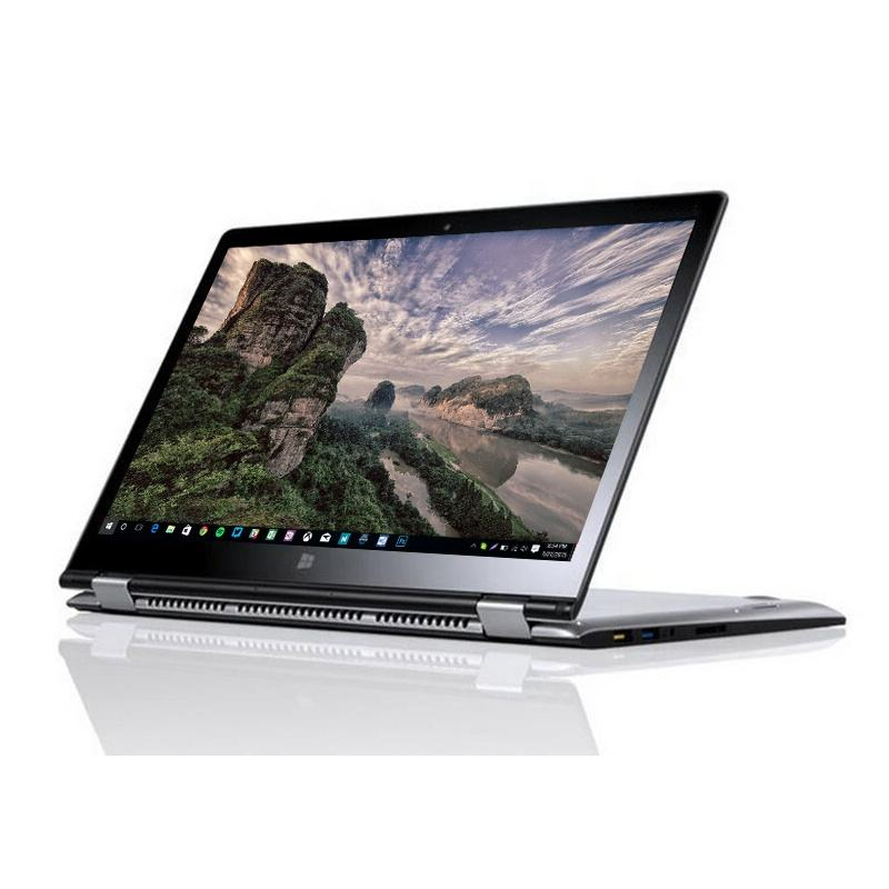 Hot selling 2 in 1 Laptop Notebooks 11.6 inch 360 degree rotary touch screen netbook computers with 4G Ram 64G SSD