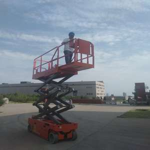 Self-Propelled Scissor Lift Man LifterสำหรับHomeeและDisableคน