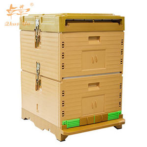 Hot sale EPS / PVC double layers plastic beehive beekeeping equipment Polypropylene plastic bee hives
