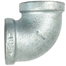 "Hot dipped galvanized malleable cast iron 90 degree 1/2"" fire fighting pipe fittings 90 elbow connector"