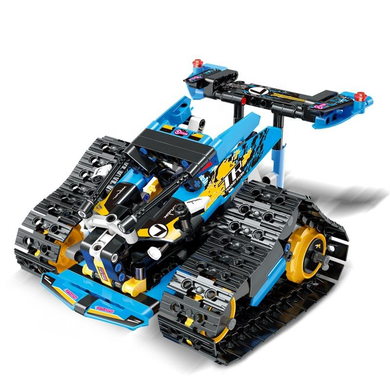 13033 13037 High Speed Off-Road Truck Technic RC Car Building Block model RC Car Updated Version Controlled Car Toys