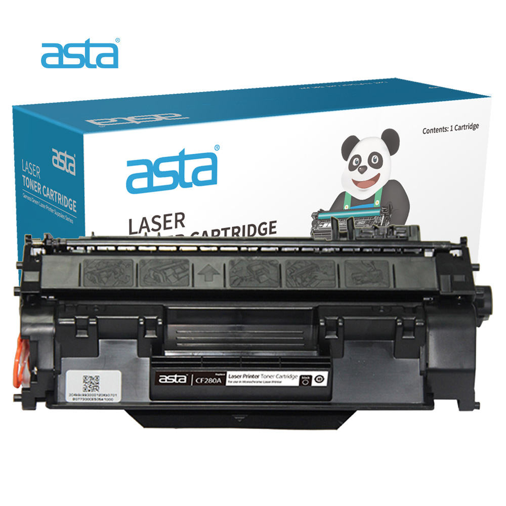 ASTA Factory Wholesale Compatible Toner For HP 05X 12X 12A 18A 30A 49A 53A 55A 79A 80A 85A 83X 88X Toner Cartridge