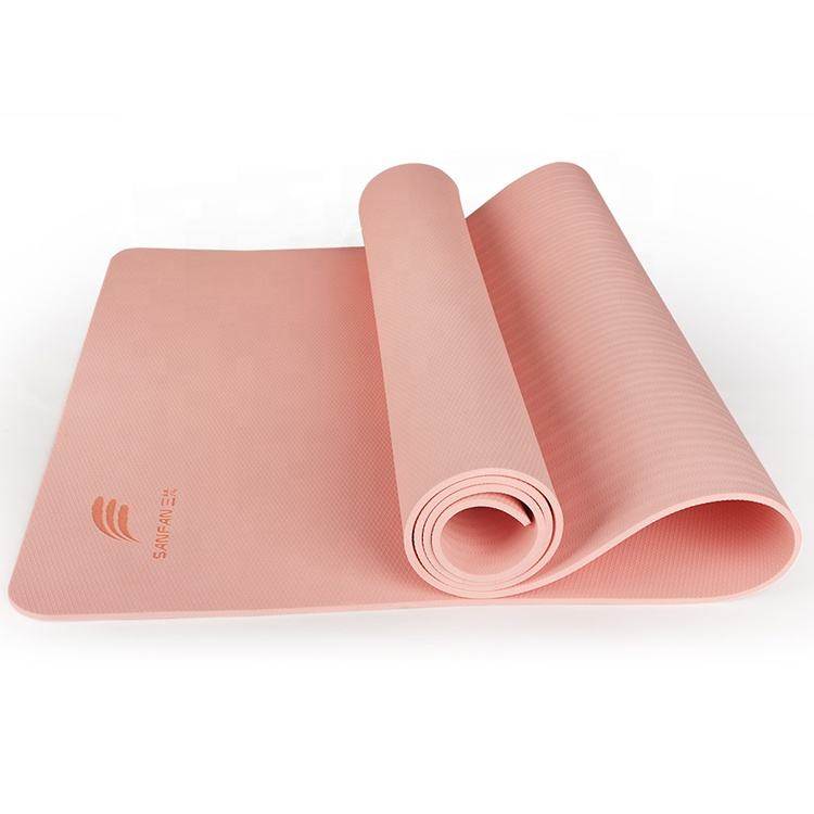 New arrival factory direct wholesale price high foaming natural TPE yoga mat