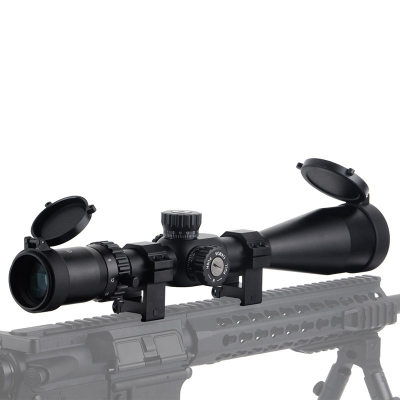 FFP 6-24X50 weapons riflescopes hunting military equipment scopes air gun hunting for pcp shooting