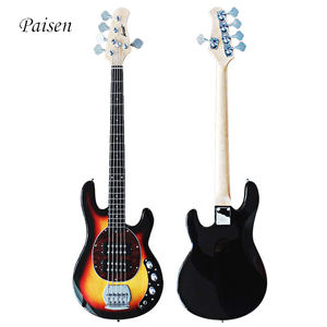 paisen bajo electrico de 5 cuerdas cheap factory price 34 inch Basswood Wood mini elektrik electric 5 string bass guitar